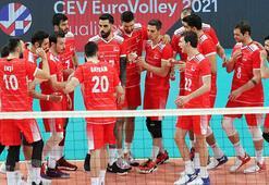 Son dakika - A Milli Erkek Voleybol Takımından 2021 CEV Şampiyonasına katılım hakkı