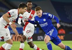 Leicester City, Southamptonu devirdi Çağlar Söyüncü...