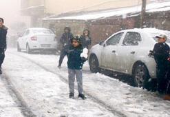 İstanbul 'kar'a kavuştu
