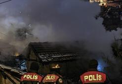 Başkentte korkutan yangın Küle döndü