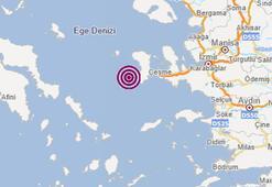 Son dakika... İzmirde deprem AFAD ve Kandilliden peş peşe açıklamalar