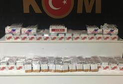 Kırşehirde kaçak tütün operasyonu