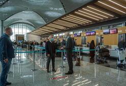 DHMİ, havalimanlarında karla mücadele çalışmalarının sürdüğünü bildirdi