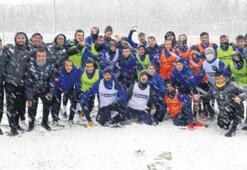 Bucaspor'a kar sürprizi