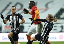 Beşiktaş - Galatasaray maçından görüntüler