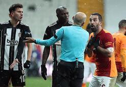 Son dakika - Beşiktaş - Galatasaray maçında hakem Cüneyt Çakıra büyük tepki Arda ve Rosier...
