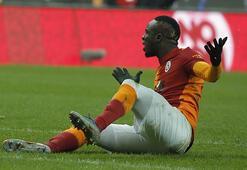 Son dakika - Galatsarayda Mbaye Diagne kırmızı kart gördü