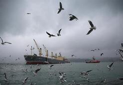 İstanbul Boğazında gemi geçişleri çift yönlü askıya alındı