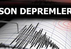Son depremler listesinde son dakika Kandilli ve AFAD duyurdu Deprem oldu mu