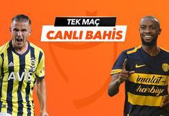 Fenerbahçe - Ankaragücü maçı Tek Maç ve Canlı Bahis seçenekleriyle Misli.com'da