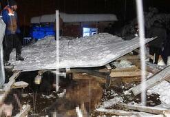 Bursada feci olay 2 ağıl çöktü, hayvanlar telef oldu
