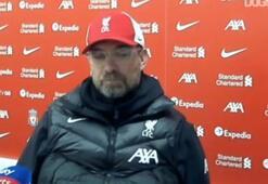 Jurgen Klopp, ManU maçının ardından konuştu
