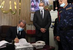 Bakan Akar: Türkiye ve Irak arasındaki iş birliği kritik önem taşımaktadır