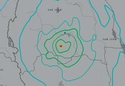 Arjantinde 6.4 büyüklüğünde deprem