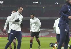 Saha kenarı kamerasından Palaceın Arsenal deplasmanı