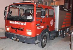 Şarj aleti tutuştu; çıkan yangında 1i bebek 4 kişi dumandan etkilendi