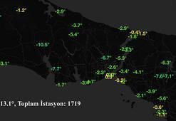 Son dakika İstanbulda hava durumu Bu haritaya dikkat