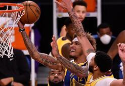 NBAde Lakersın serisine Warriors son verdi