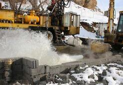 Termal su bulundu İlçenin ekonomisine katkı sağlayacak...