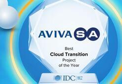 AvivaSA'nın 'Bulut Dönüşüm Projesi'ne birincilik ödülü