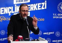 Bakan Kasapoğlu: Gençlerimizin istikbalini çakalların çalmasına müsaade etmeyeceğiz