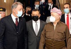 Bakan Akar Irakta İki kritik görüşme