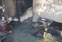 Son dakika Gaziantepte çıkan yangında 2 çocuk hayatını kaybetti