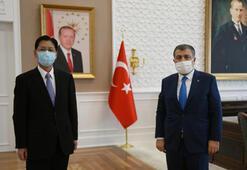 Sağlık Bakanı Koca, Çinin Ankara Büyükelçisi ile görüştü