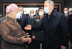 Akar ve Güler Erbil'de: PKK karşısında beraber durmalıyız