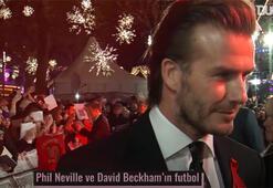 Phil Neville ve David Beckham bir araya geldi