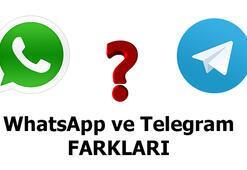 WhatsApp ile Telegram arasındaki farklar nelerdir