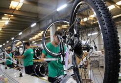 Türkiyenin bisiklet ihracatı 50 milyon euroyu aştı