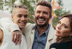 Romeo Beckham artık bir model