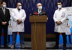 Son dakika... Aşı yaptıran TBMM Başkanı Şentoptan ilk açıklama