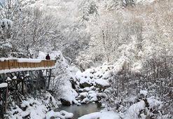 Horma Kanyonu kar altında doyumsuz manzaralar sunuyor