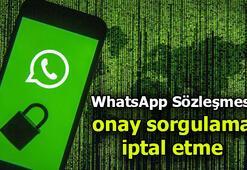 WhatsApp sözleşmesini kabul edip etmediğinizi nasıl anlayabilirsiniz