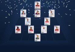 UEFA Yılın 11i belli oldu