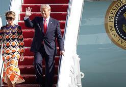 Beyaz Saraydan ayrılan ABD Başkanı Trump Floridaya ulaştı