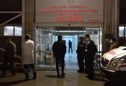 Kalp krizi geçirdiği düşünülen kişinin hastanede sırtından vurulduğu anlaşıldı