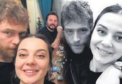 Dizi setinde başlayan aşk: Tuğba Tutuğ-Mustafa Açılan
