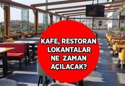 Kafe, restoran ve lokantalar için Cumhurbaşkanı Erdoğandan sevindiren açıklama Kafe, lokanta ve restoranlar ne zaman açılacak