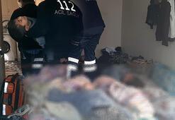 5 kişilik aileyi parçaladı 2 çocuk sobadan sızan gazdan öldü