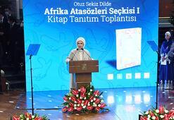 Emine Erdoğan Otuz Sekiz Dilde Afrika Atasözleri Seçkisi 1 kitabının tanıtım programında konuştu