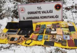 Osmaniyede PKKya operasyon