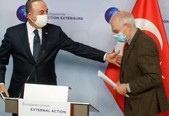 Son dakika: Bakan Çavuşoğlu ve Borrellden önemli açıklamalar