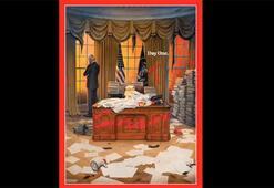 Son dakika... Timeın Beyaz Saray kapağı bomba etkisi yarattı