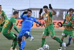 Erzurumspor - Alanyaspor: 1-1