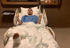 Son dakika - Trabzonsporda Abdülkadir Ömür ameliyat edildi