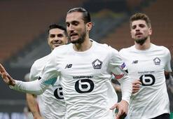 Fransada Yusuf Yazıcı aralık ayının en iyi futbolcusu seçildi