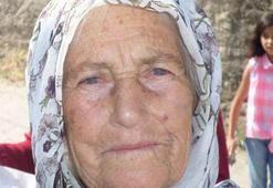 Kahreden olay Yaşlı kadın yanarak can verdi